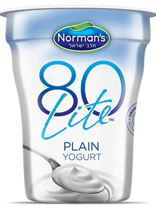 Norman's 80 Lite Plain 6 Oz.