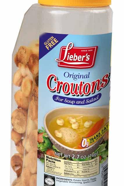 Lieber's Soup Croutons(regular) 2.7 oz.