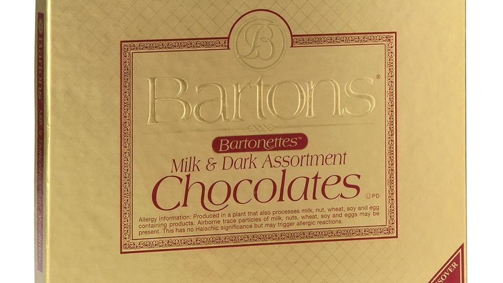 Bartonette's Milk Dark Assortment 8 Oz