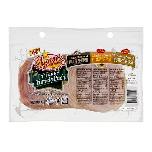 Aaron's Turkey Variety Pack 12oz