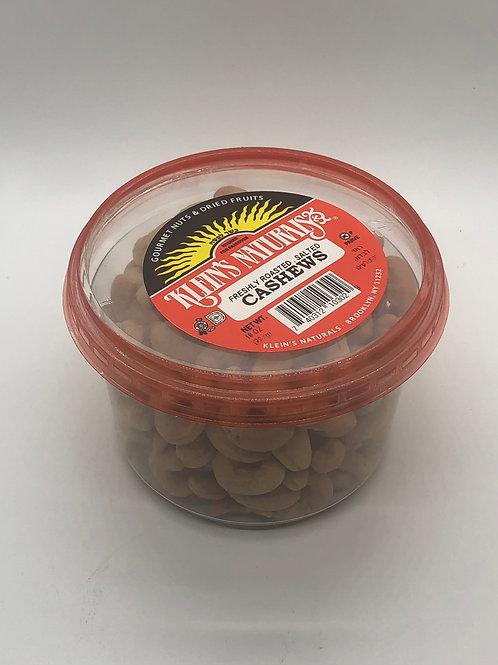 Klein's Cashews Roasted Salted 10oz