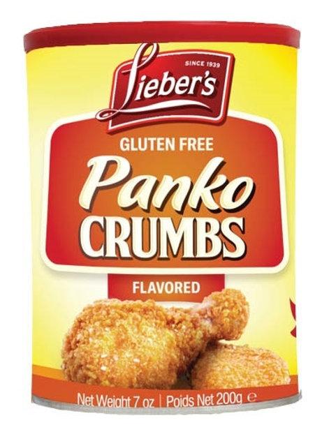 Lieber's Flavored Panko Crumbs 7 oz.