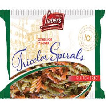 Lieber's Pasta Tricolor Spirals 9 oz.