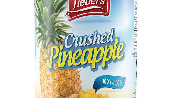 Lieber's Crushed Pineapple 20 oz.
