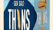 Lieber's Thins Crackers ( Sea salt) 2.8 oz