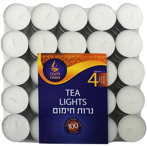 L'Hava Tea Lights 100pcs