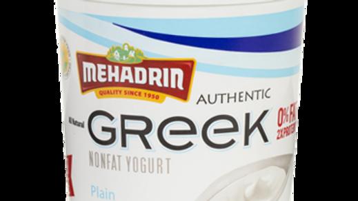 Mehadrin  Plain  Greek Yogurt 32oz