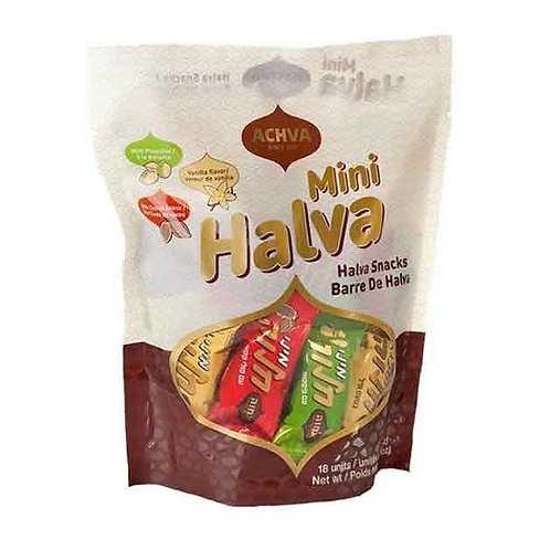 Achva Halva Mini Snack Bag 7.6 oz