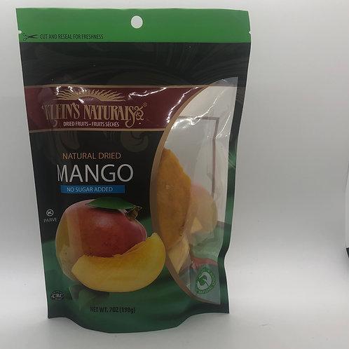 Klein's Mango Natural Dried 7oz