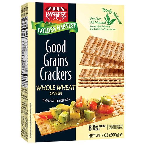 Good Grains Crackers WW Onion 7oz