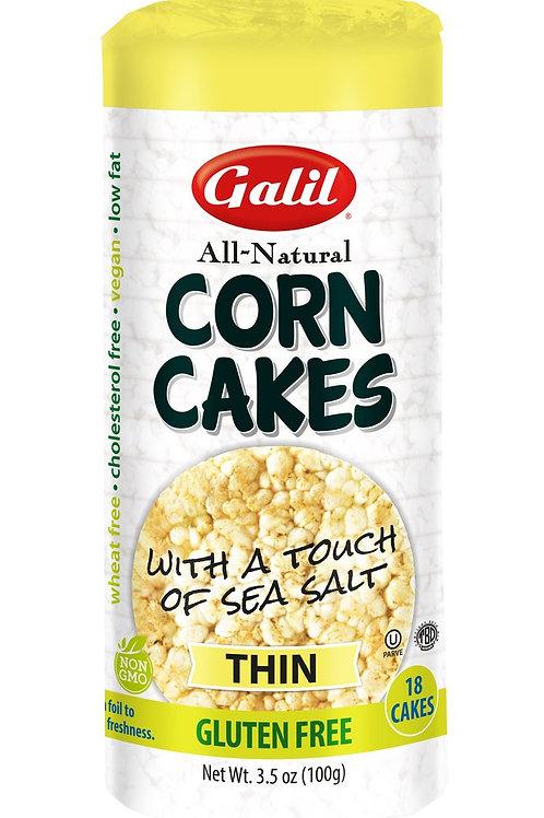 Galil Thin Corn Cakes Sea Salt 3.5 oz