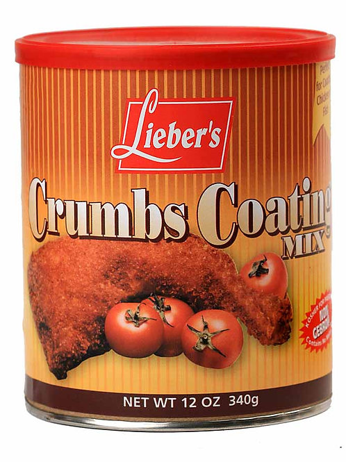 Lieber's Crumbs Coating Mix (Can) 12 oz.