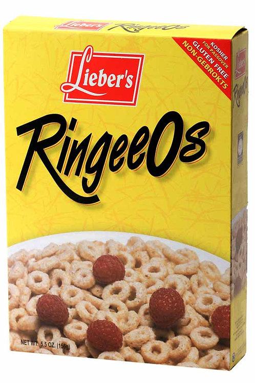 Lieber's Ringee'os Cereal 5.5 oz.