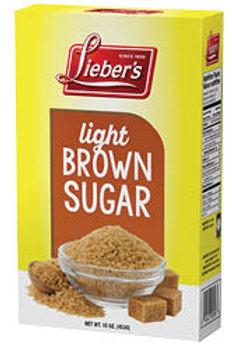 Lieber's Light Brown Sugar 16 oz.