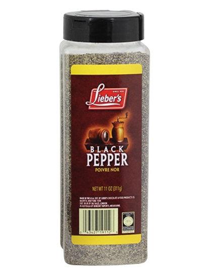 Lieber's Black Pepper 11 oz.