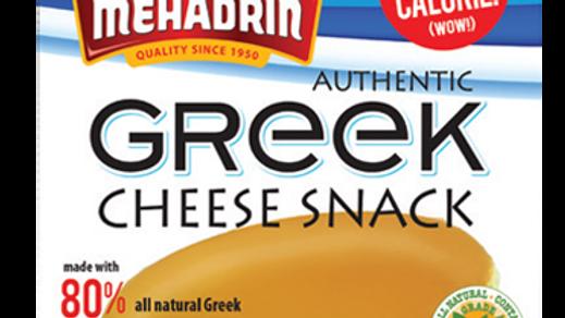 Mehadrin  Cheese Snack Greek  3oz