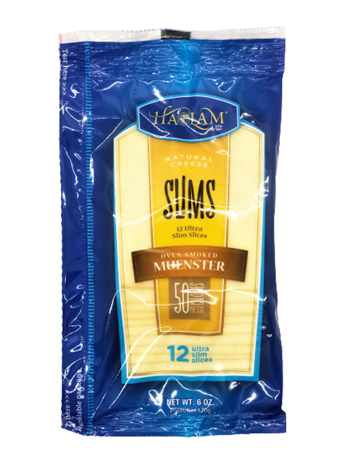 Haolam Slims Oven Smoked Muenster 6oz