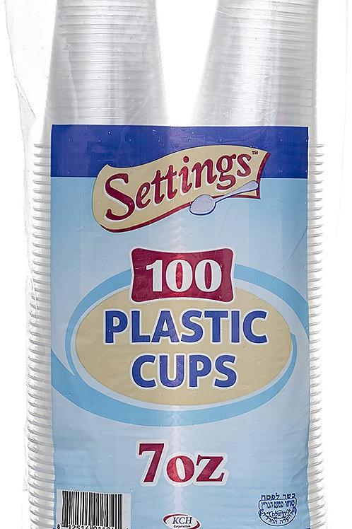 Plastic Cups 7oz 100ct