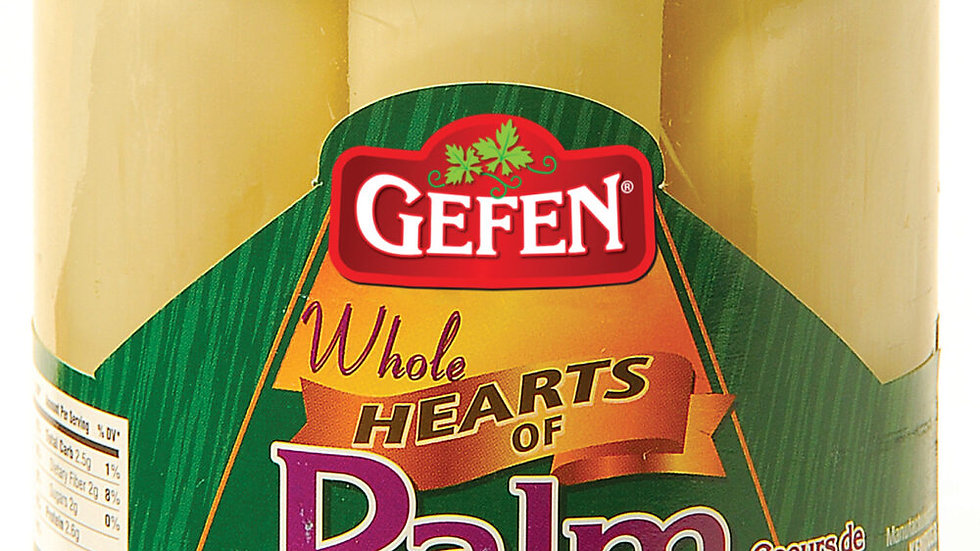 Gefen Whole Hearts Of Palm Jar 14.5oz