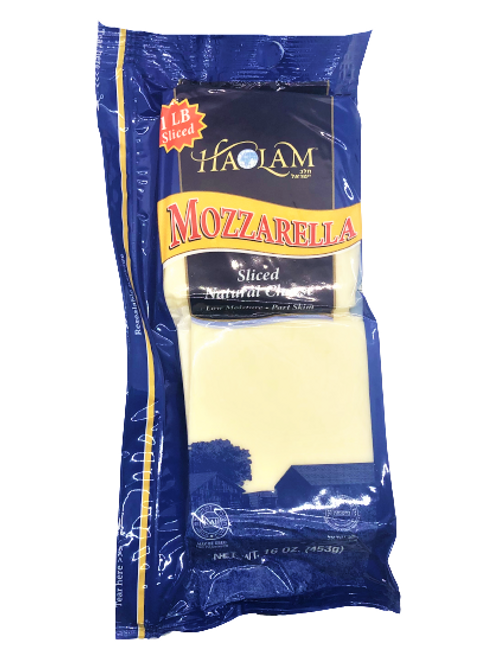 Haolam Mozzarella Sliced 16oz