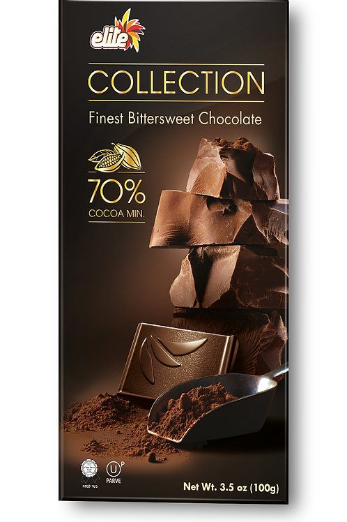 Elite Collection Dark Chocolate 70% 3.5oz