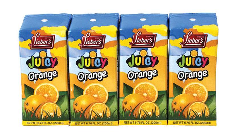 Lieber's Lieber's Orange Drink (Tetra Pak) 4/6.76 oz.