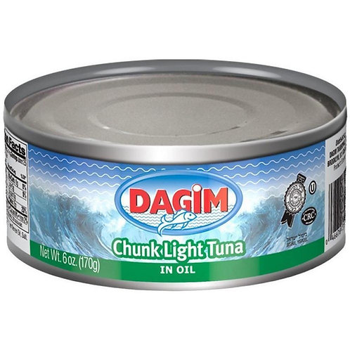 Dagim Chunk Light Tuna In Oil 6oz
