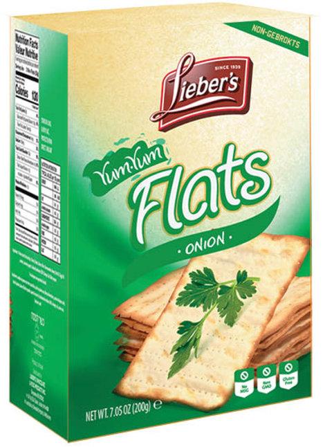 Lieber's Flat Crackers (Onion) 7.05 oz.