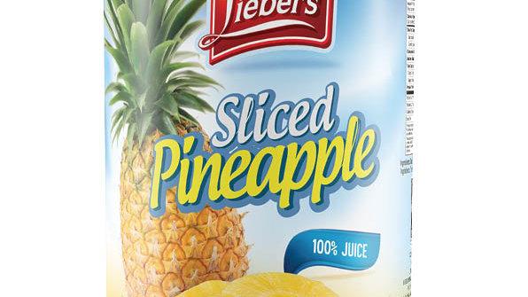 Lieber's Sliced Pineapple 20 oz.