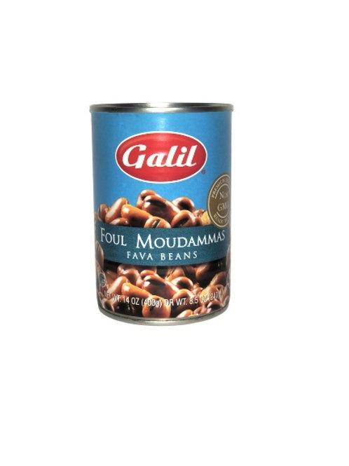 Galil Foul Moudammas- Fava Beans 14 oz
