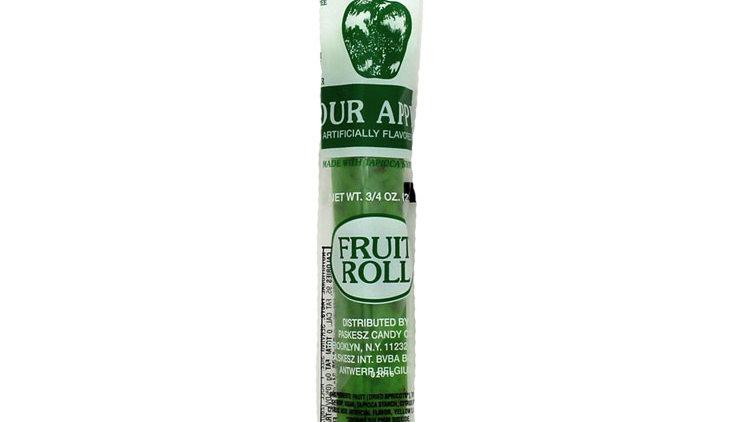 Kosher Noshes Fruit Roll Sour Apple  0.75oz