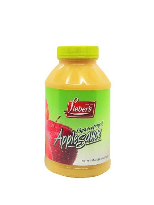 Lieber's Apple Sauce (Unsweetened) 46 oz.