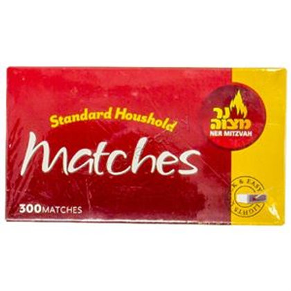 Ner Mitzvah Matches 300ct