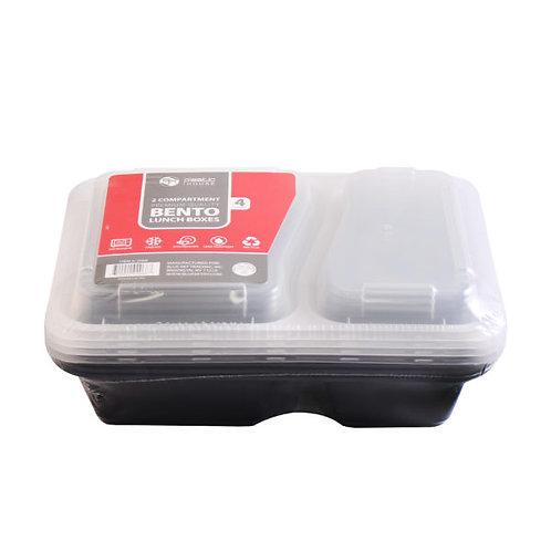 Bento Boxes 2comp. 4ct