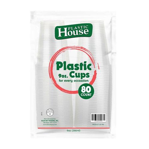 K.C. Premium Plastic Cups 9oz