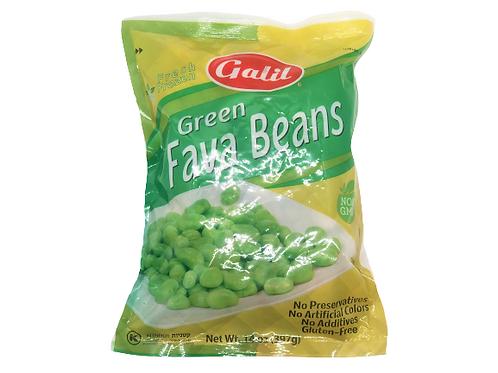 Galil Frozen Green Fava Beans Kitniot 14 oz