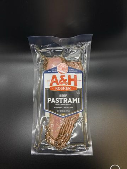 A&H Beef Pastrami Sliced 6oz