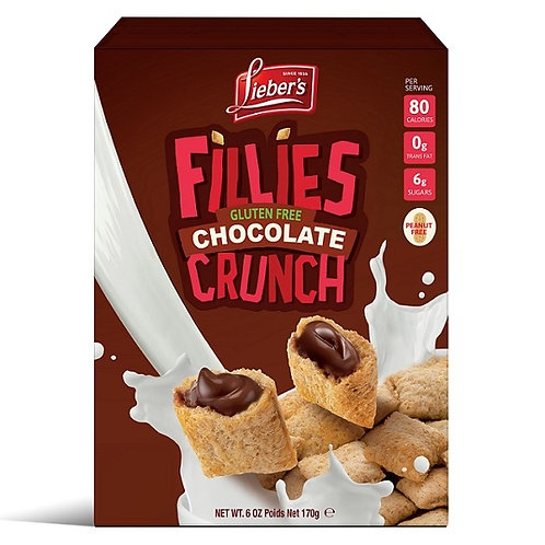 Lieber's Fillies Choco Filled Cereal 6 oz.