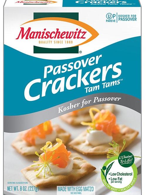 Manischewitz Tam Tams Salted 8oz