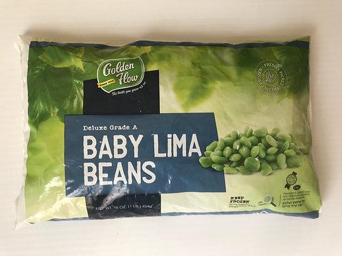Golden Flow Baby Lima Beans 16oz
