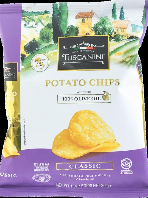 Tuscanini Classic Potato Chips Snack Bag 1oz