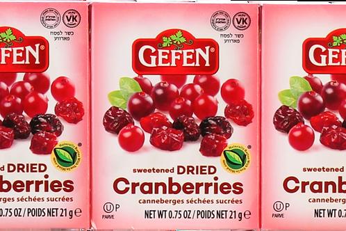 Gefen Dried Cranberries 6.75oz