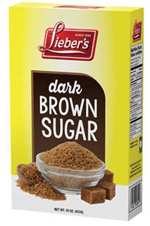 Lieber's Dark Brown Sugar 16 oz.