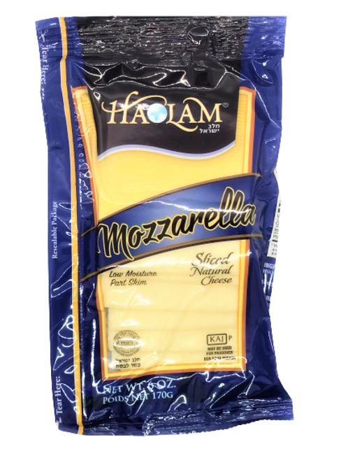 Haolam Mozzarella Sliced Natural Cheese 6oz