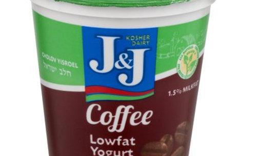 J&J  Coffee  Yogurt 7oz