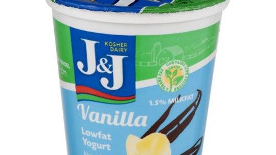 J&J  Vanilla  Yogurt 7oz