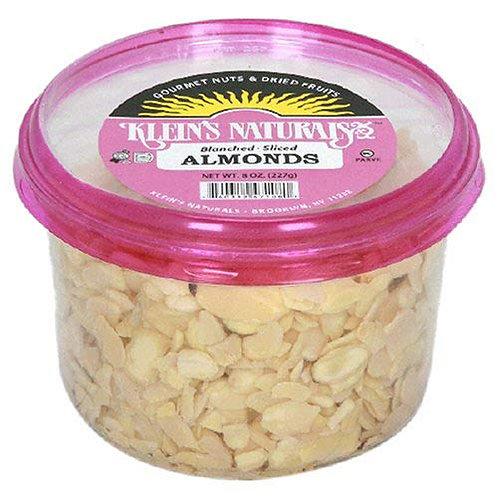 Klein's Almonds Sliced Blanched 8oz