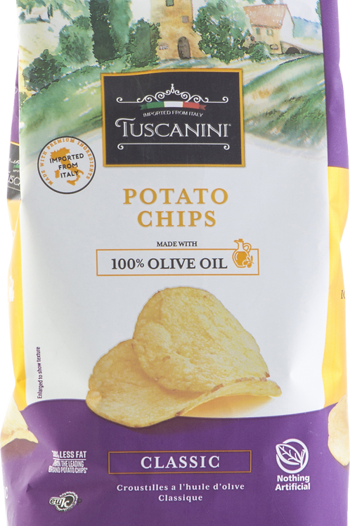 Tuscanini Classic Olive Oil Potato Chips 4.6oz