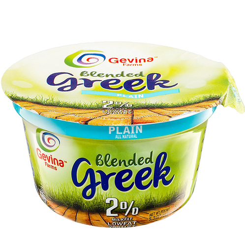 Gevina  Plain  Greek Yogurt 2% Blended 5.3oz