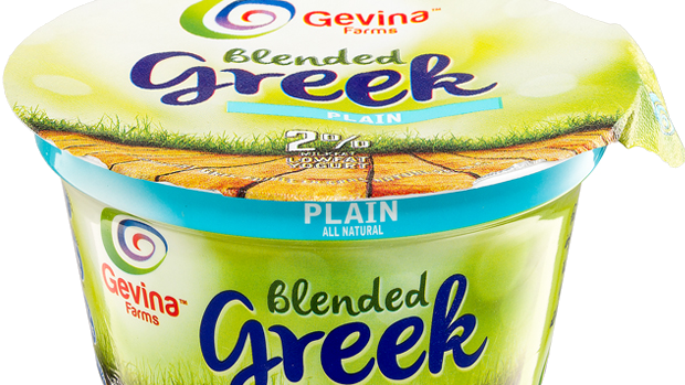 Gevina  Plain  Greek Yogurt 2% Blended 5.3oz